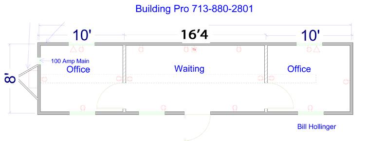 Job Site Trailers - Building Pro